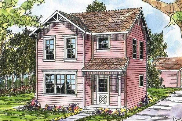 Cottage House Plan - Emerson 30-108 - Front Elevation