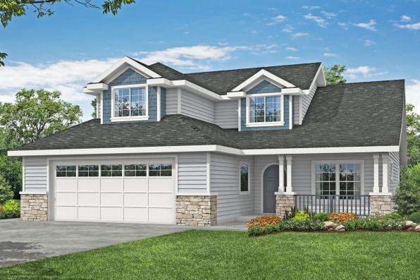 Country House Plan - Sprague 31-200 - Front Elevation