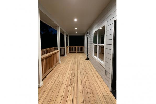 House Plan Photo - Foxboro 31-153 - Covered Deck
