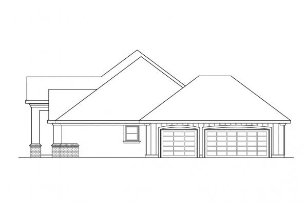 Ranch House Plan - Barstow 30-050 - Ranch House Plan