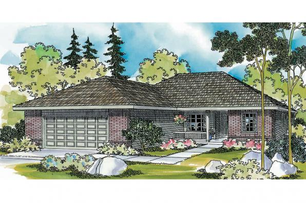 Traditional House Plan - Keizer 30-230 - Front Elevation