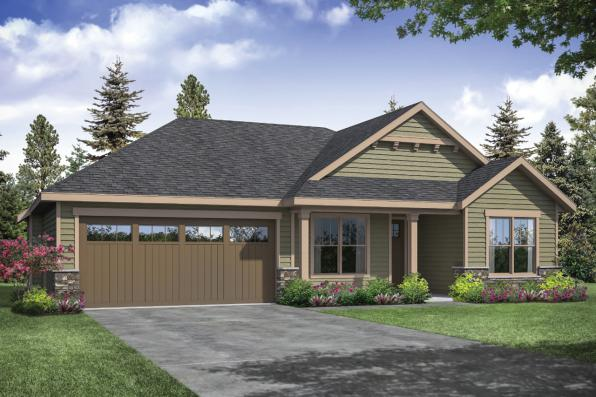Traditional House Plan - Stowe 31-138 - Front Elevation