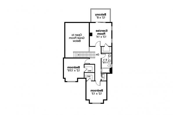 Country House Plan - Sprague 31-200 - Second Floor Plan