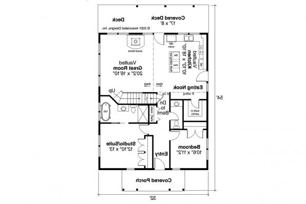 Country House Plan - Mosier 31-238 - First Floor Plan
