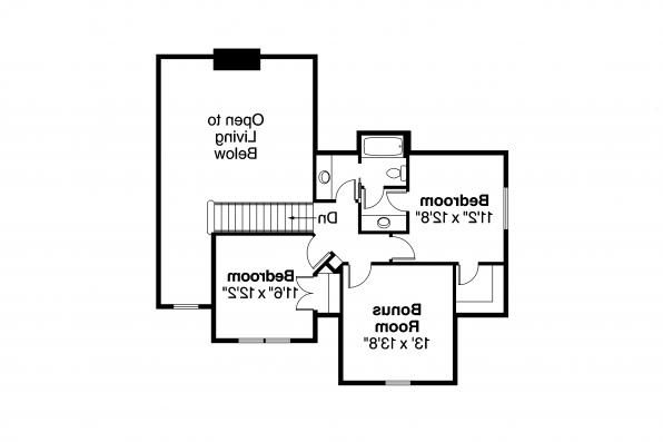 Chateau House Plan - Fitzgerald 30-492 - Second Floor Plan