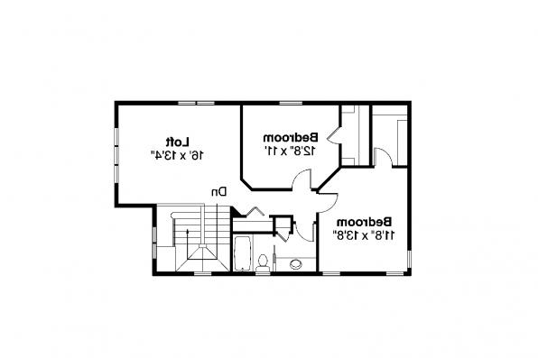 Contemporary House Plan - Montrose II 30-822 - 2nd Floor Plan