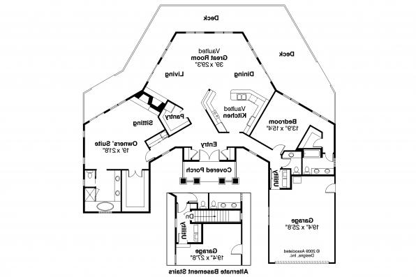 Contemporary House Plan - McKinley 10-181 - Floor Plan