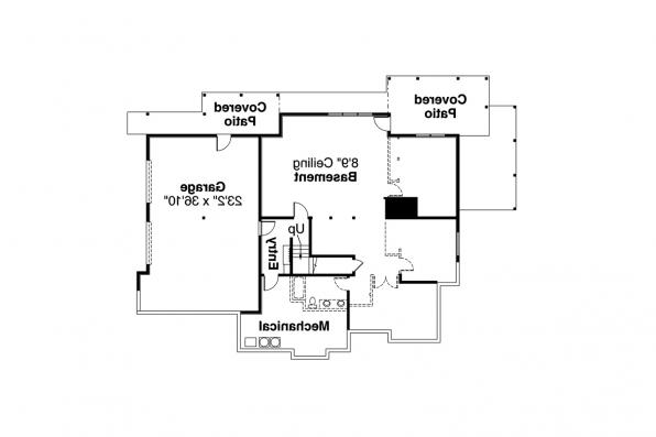 Ranch Home Plan - Estes Park 31-146 - Basement Floor Plan