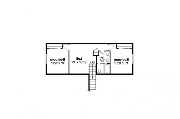 Cottage House Plan - Arborbrook 31-072 - Second Floor Plan