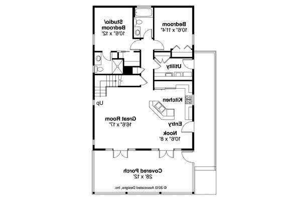 Cottage House Plan - Lyndon 30-769 - Floor Plan