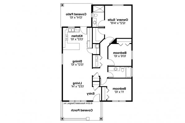 Cottage House Plan - Morrison 30-973 - Floor Plan