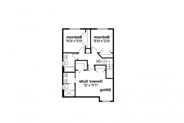Country House Plan - Bristol 10-184 - 2nd Floor Plan