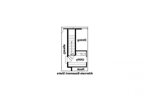 Country House Plan - Briarton 30-339 - Alternate Basement Option