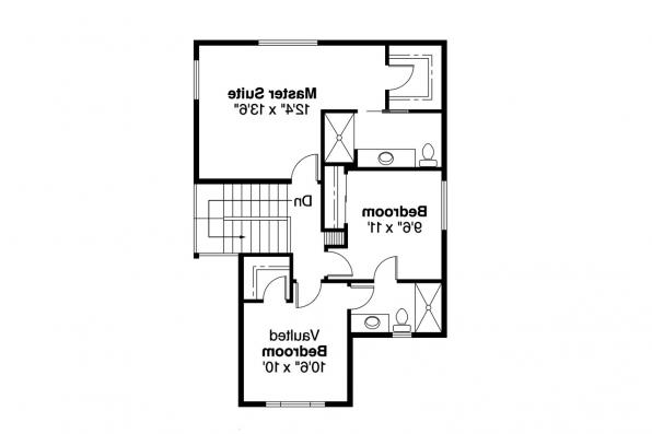 Country House Plan - Jennings 10-279 - 2nd Floor Plan