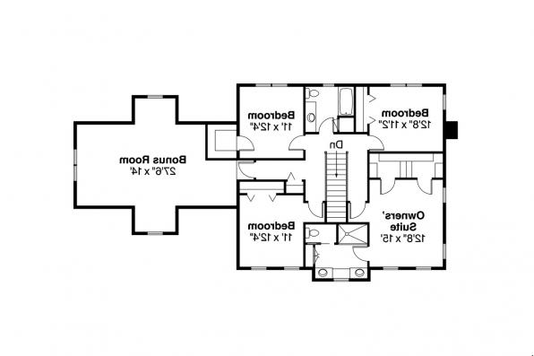 Country House Plan - Lorane 30-107 - 2nd Floor Plan