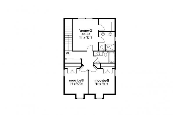 Country House Plan - Patterson 30-117 - 2nd Floor Plan