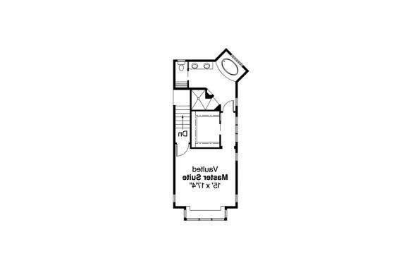 Craftsman House Plan - Kelseyville 30-476 - 2nd Floor Plan