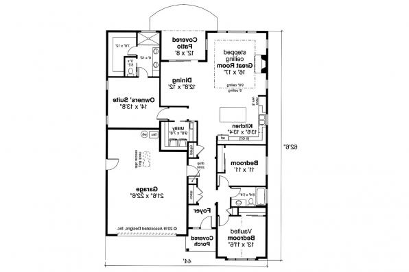 Craftsman House Plan - Meadowlark 31-164 - Floor Plan