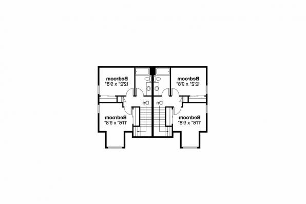 Duplex Plan - Braydon 60-012 - 2nd Floor Plan