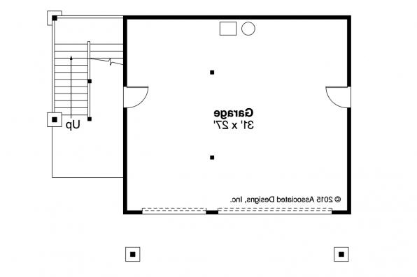 Garage Plan 20-152 - First Floor Plan
