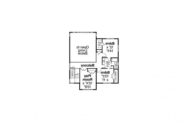 View Lot House Plan - Patagonia 31-145 - Second Floor Plan