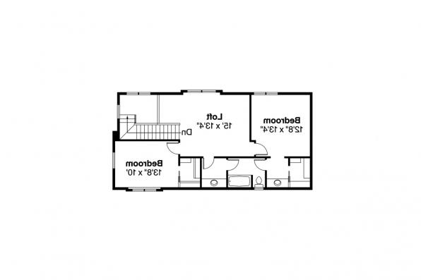Mediterranean House Plan - Rimrock 30-817 - 2nd Floor Plan