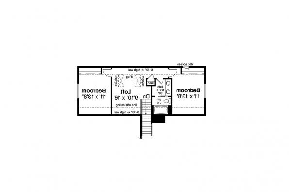 Ranch House Plan - Amarillo 31-139 - Second Floor