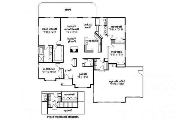 Traditional House Plan - Clarkston 30-080 - Floor Plan
