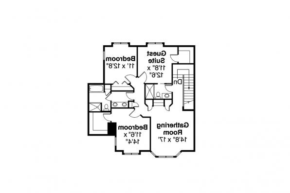 Traditional House Plan - Masonville 30-935 - Second Floor Plan