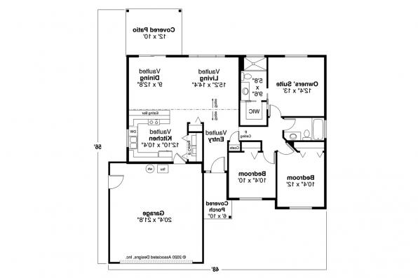Traditional House Plan - Wapato 31-210 - Floor Plan