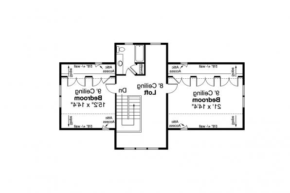 Two Story House Plan - Primrose 30-826 - Second Floor Plan