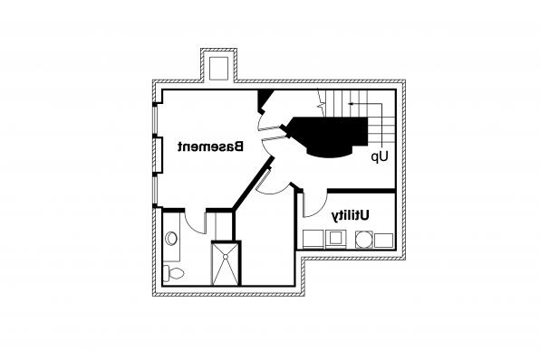Victorian  House Plan - Langston 42-027 - Basement Floor Plan