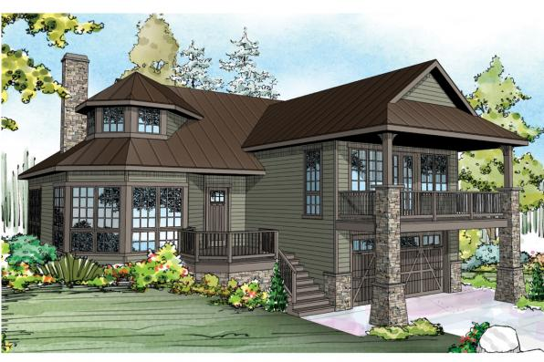 Cape Cod House Plan - Cedar Hill 30-895 - Front Elevation
