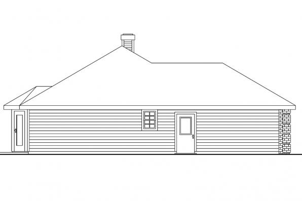 Classic House Plan - Binglsy 30-532 - Right Elevation