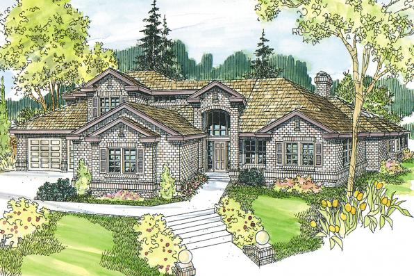 Classic House Plan - Huntsville 30-463 - Front Elevation