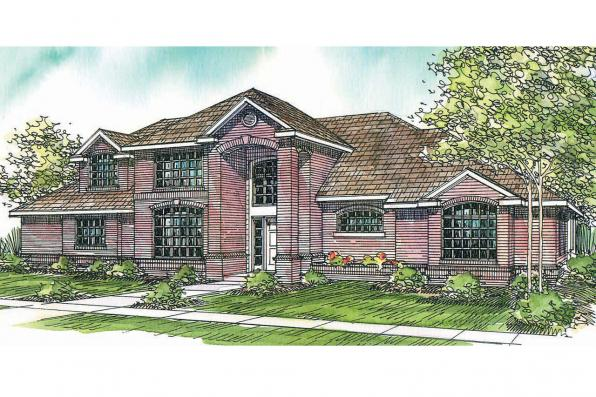 Classic House Plan - Richfield 10-352 - Front Elevation