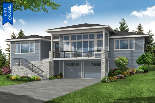 Concept Plan - Nehalem 31-233 - Front Elevation