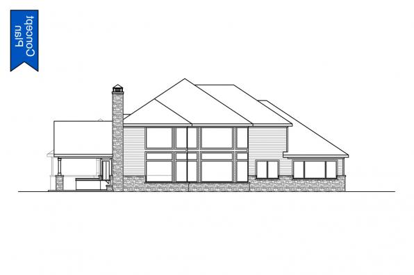 Classic Concept Plan - Springhill 31-232 - Rear Elevations