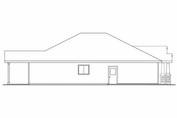 Cottage House Plan - Logan 30-720 - Right Elevation