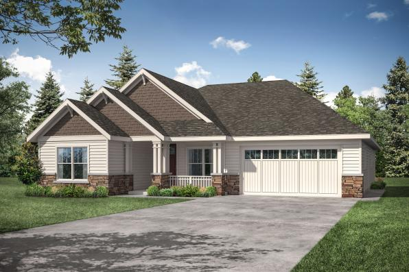 Cottage Home Design Aster 31-161 - Front Elevation