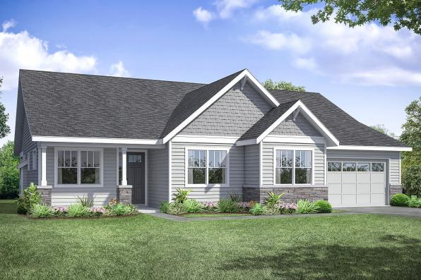 Country House Plan - Haldey 31-141 - Front Elevation