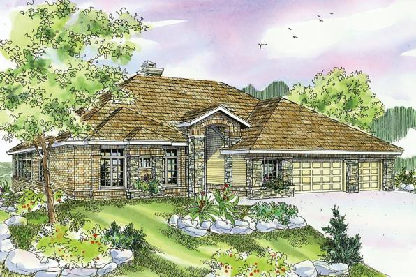 European House Plan - Stevenson 10-502 - Front Elevation