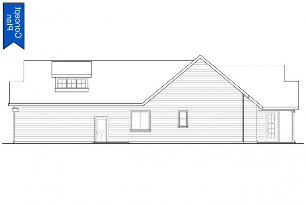 Ranch Concept Plan - Emmons 31-148 - Left Elevation