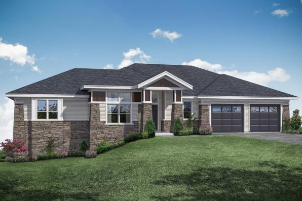 Traditional Home Design - Brandywine 31-125 - Front Exterior