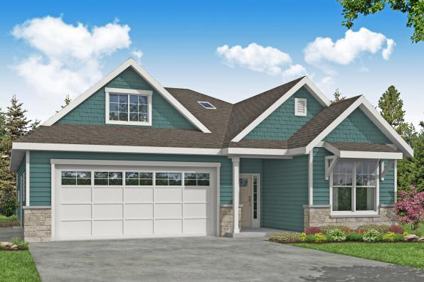 Traditional House Plan - Helena 31-199 - Front Elevation