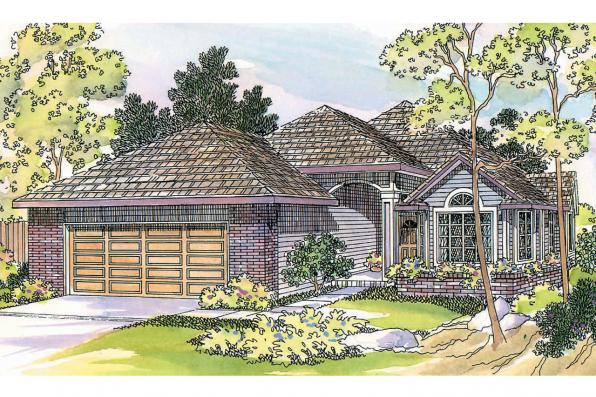 Traditional House Plan - Lynden 30-143 - Front Elevation