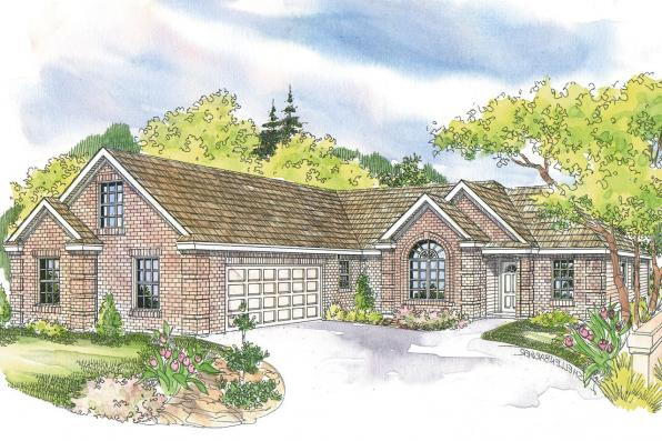 Traditional House Plan - Willcox 30-232 - Front Elevation