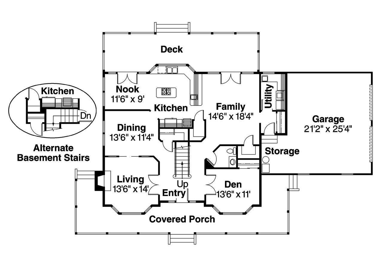 Front Elevation Colonial : Country house plans cimarron associated designs