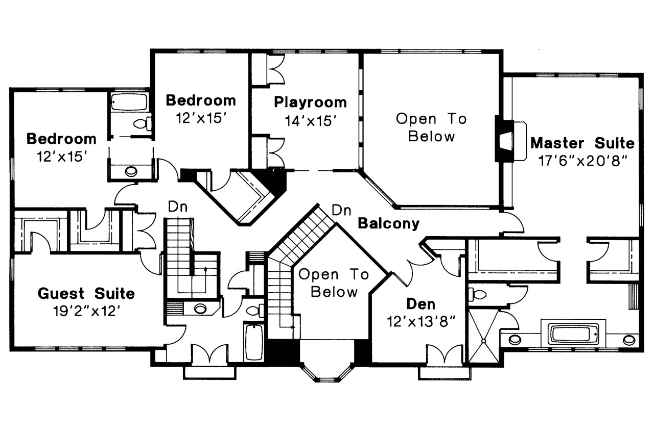 Mediterranean house plans moderna 30 069 associated - Mediterranean house floor plan and design ...