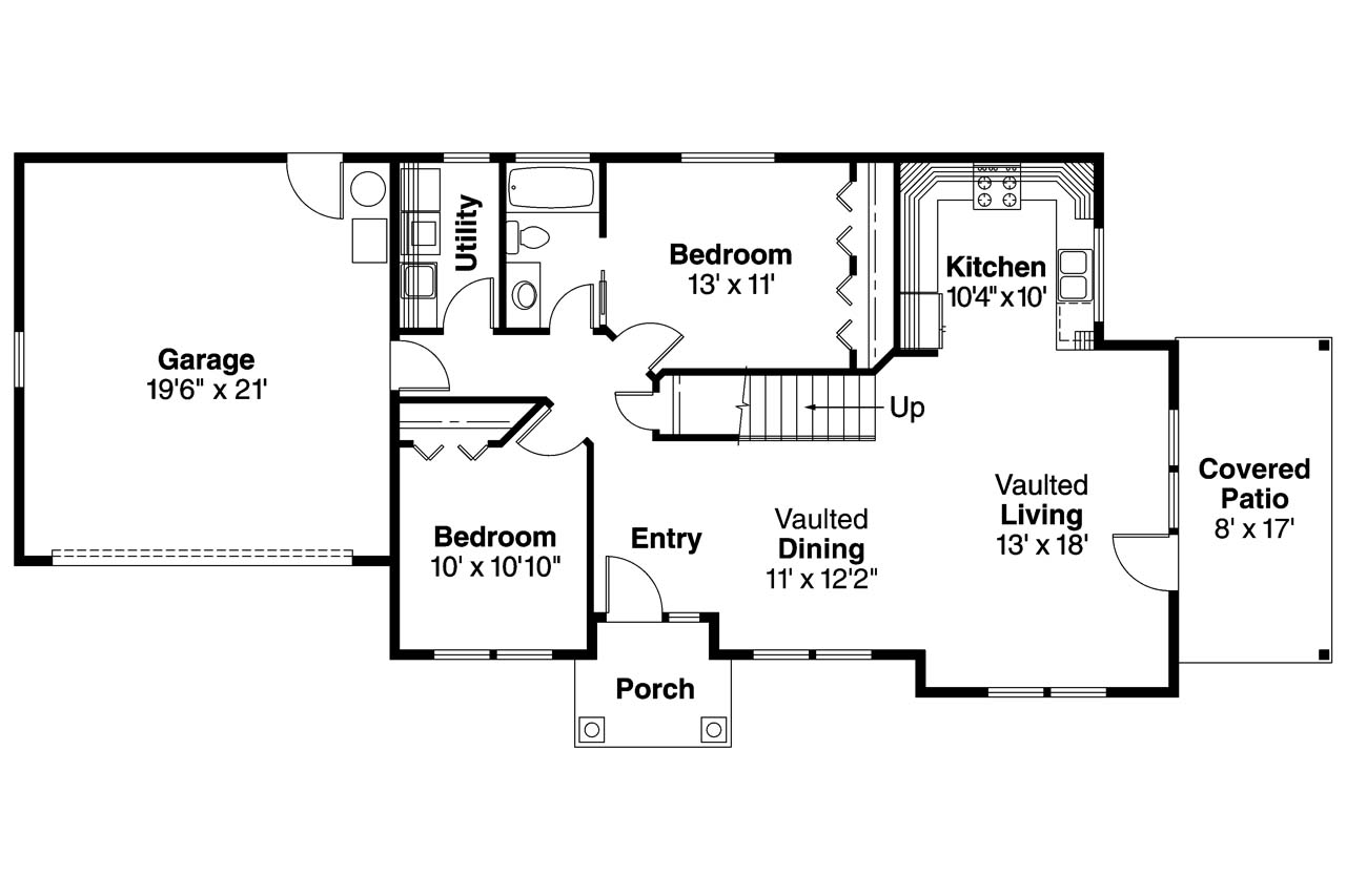 One Room Plan Design